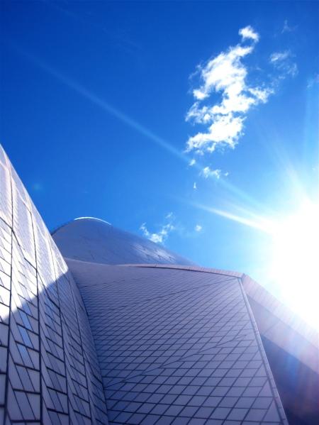 opera roof sun